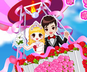 game Romantic Wedding in the Sky