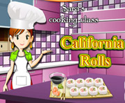 game Sara Cooking Class California Rolls