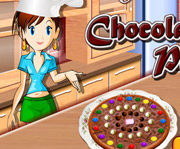 game Sara Cooking Class Chocolate Pizza