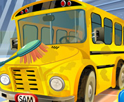 game School Bus Car Wash