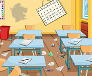 game Smart Classroom Clean Up