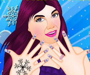 game Snowflake Nails