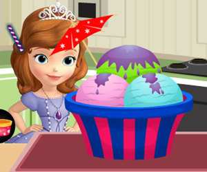 game Sofia Ice Cream Decoration
