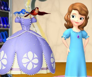 game Sofia The First Dress For A Royal Day