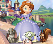 game Sofia The First Find Differences