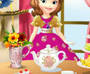 game Sofia The First Tea Party