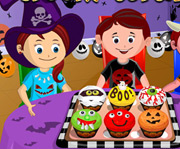 game Spooky Cupcakes Game