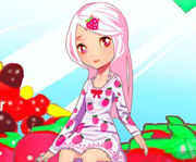 game Strawberry Gal Dress Up