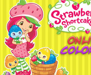 game Strawberry Shortcake Online Coloring