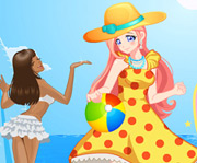 game Summer Holiday Dress Up