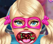 game Super Barbie Sister Throat Doc