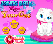 game Taking Bath For Your Cat
