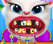 game Talking Angela Dental Care