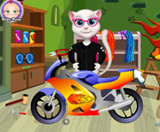 game Talking Angela Moto Insurance