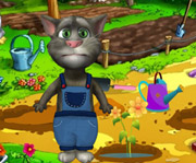 game Talking Tom Gardener