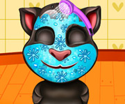game Talking Tom Spa Makeover