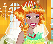 game Tiana Wedding Dress Up