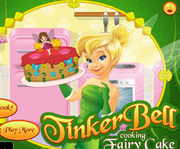 game Tinkerbell Cooking Fairy Cake