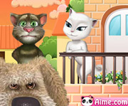 game Tom Cat Kissing