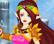 game Warrior Princess Dressup