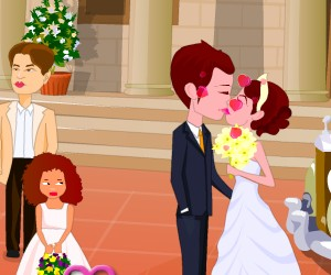 game Wedding Kiss