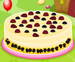 game White Chocolate Berry Cheesecake