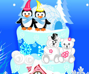 game Winter Wonderland Cake
