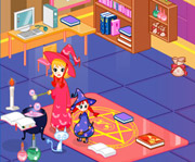 game Witch School Dorm Decoration